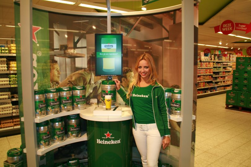 Heineken indoor demonstratie