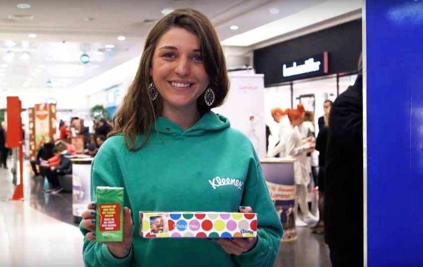 promotiebureau-juice-promotions-Brand-Activation-Kleenex