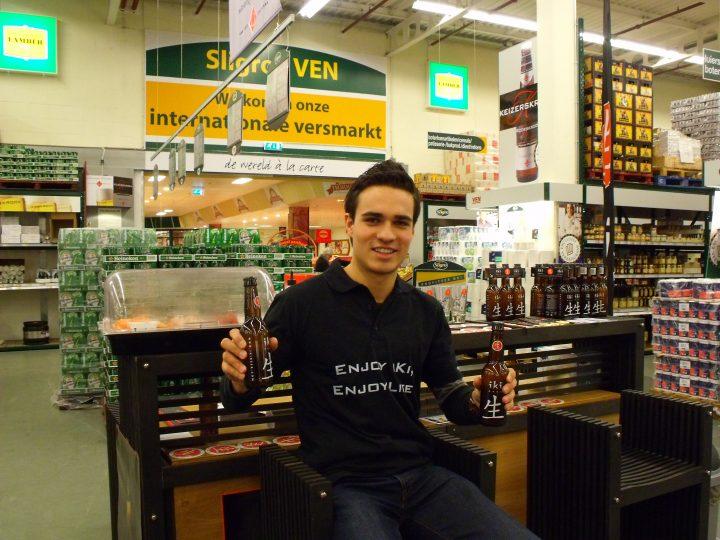 iKi Beer winkeldemonstratie Sligro Amsterdam