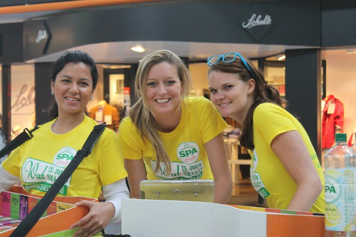 Spa Fruit nearstore cold sampling promotieteam
