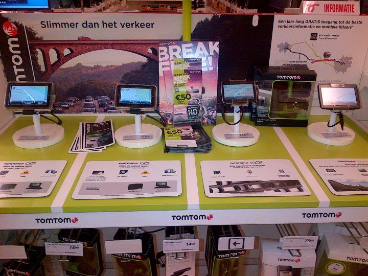merchandising mediamarkt tomtom Leeuwarden