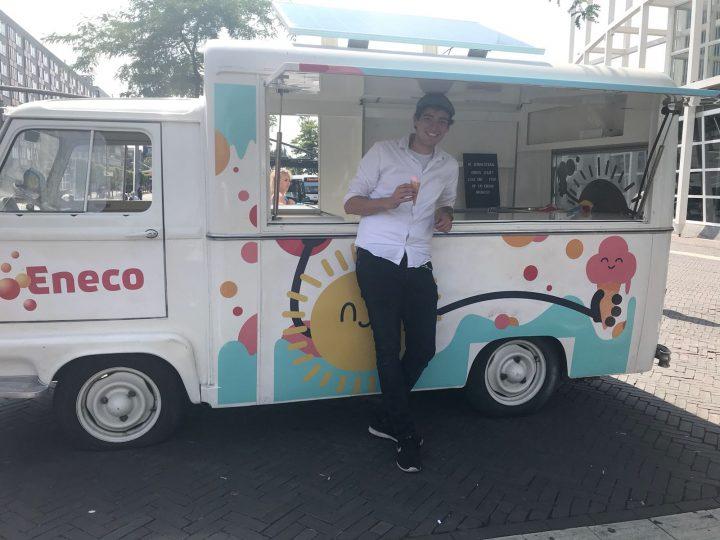 Eneco ijsjestour cold sampling